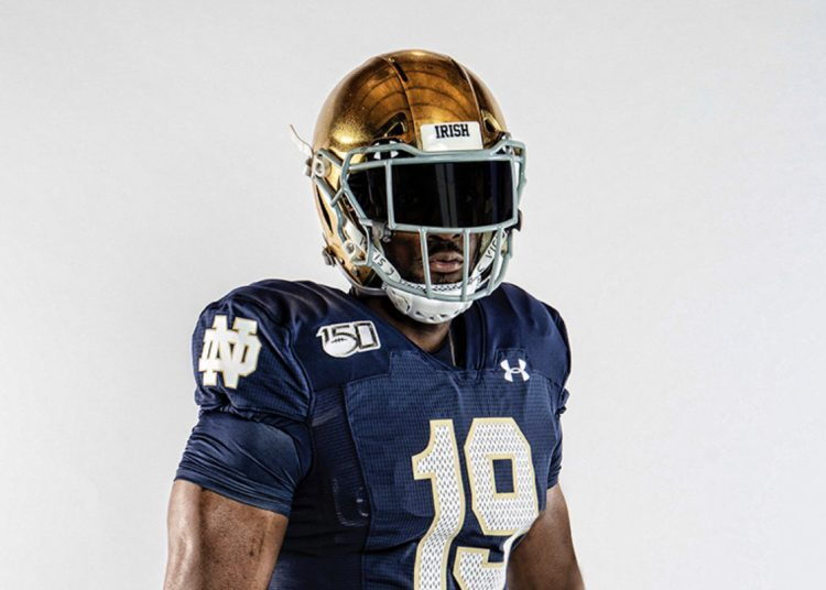 Notre Dame Football Player